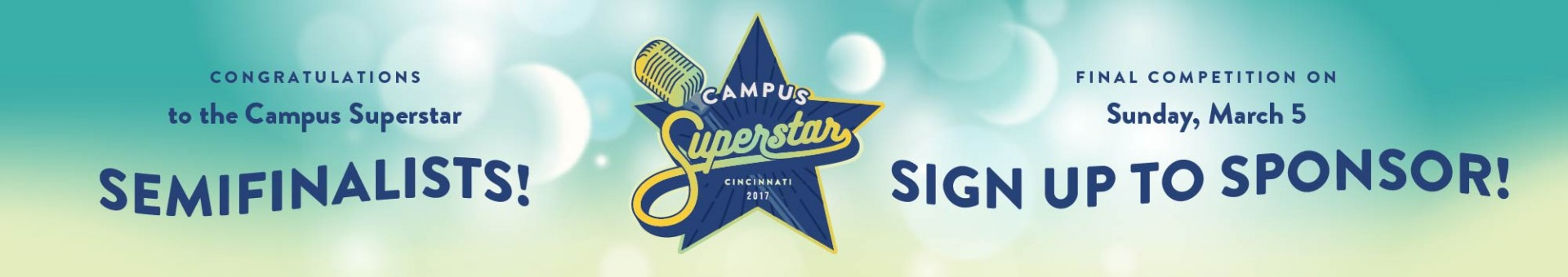 Become a Campus Superstar Sponsor!