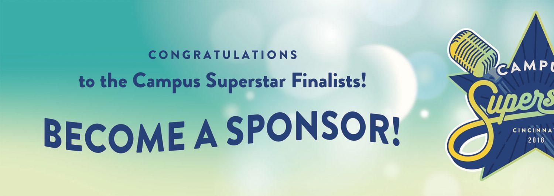 Become a Campus Superstar Sponsor